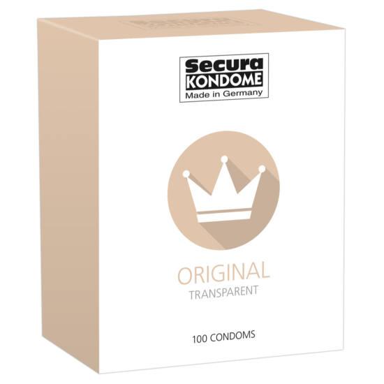 Secura Original - áttetsző óvszerek (100db)