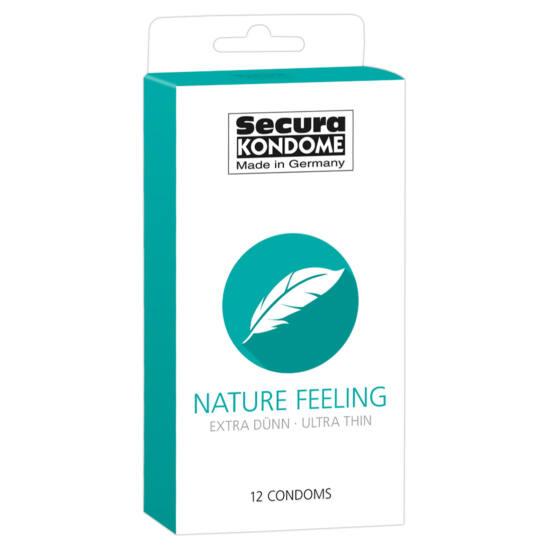 Secura Nature Feeling - extra vékony óvszerek (12db)