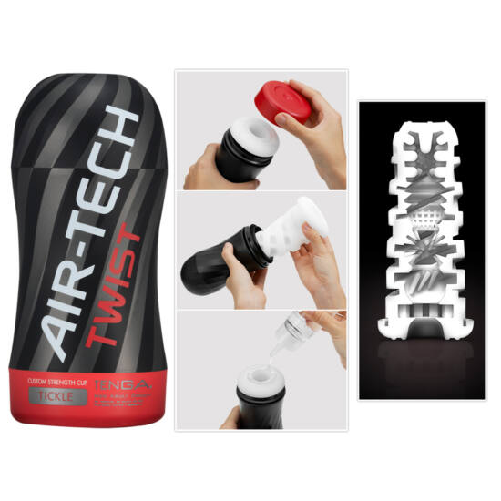 TENGA Air Tech Twist Tickle - maszturbátor