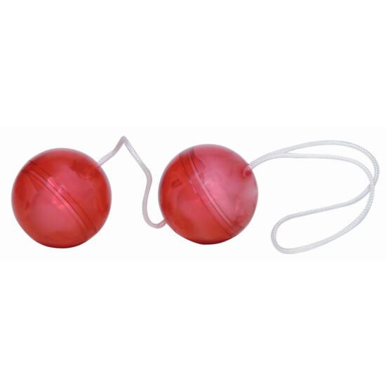 Vörös rózsák - vibrátoros készlet (9 részes)