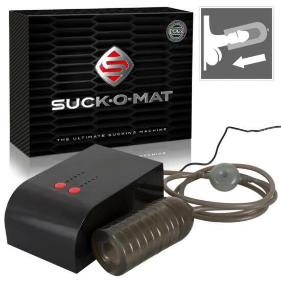 Suck-O-Mat - hálózati szuper-szívó maszturbátor