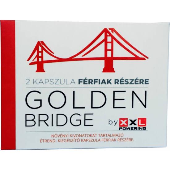 GoldenBridge - étrend-kiegészítő kapszula férfiaknak (2db)