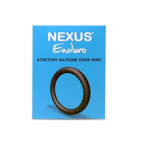 Nexus Enduro - szilikon péniszgyűrű (fekete)