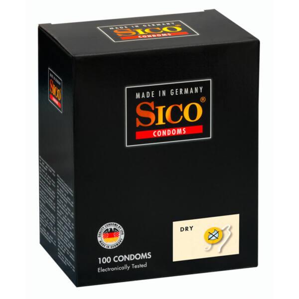 SICO Dry - síkosításmentes óvszer (100db)
