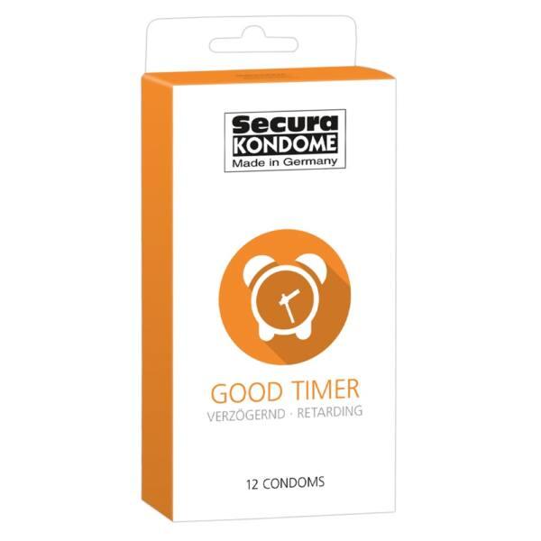 Secura Good Timer - késleltető óvszer (12db)