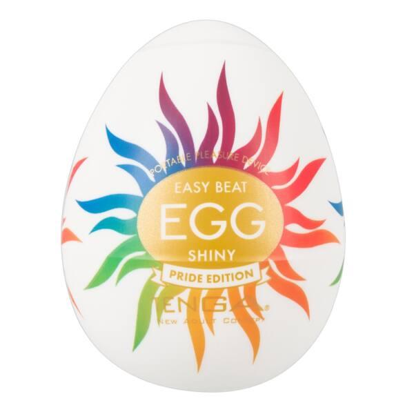 TENGA Egg Shiny Pride - maszturbátor (6db)