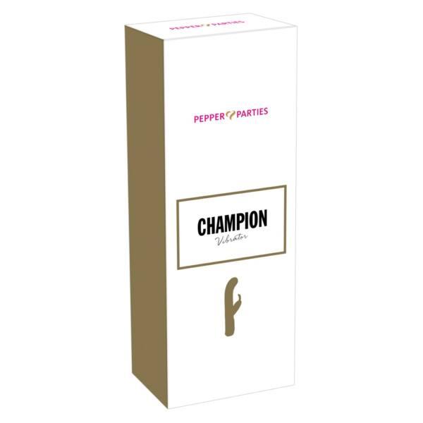 Champion - csiklókaros G-pont vibrátor (zöld)