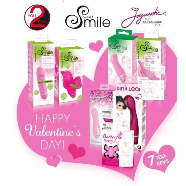 Smile Romantikus vibrátor csomag (7 részes)