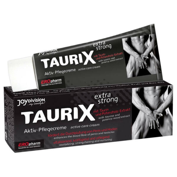 TauriX extra erős péniszkrém (40ml)