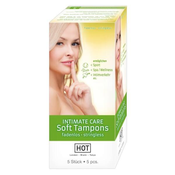 HOT Intimate Care Soft - szextampon (5db)