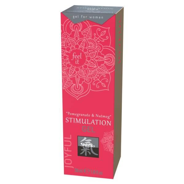 HOT Shiatsu - klitorisz stimuláló krém - gránátalma-szerecsendió (30ml)