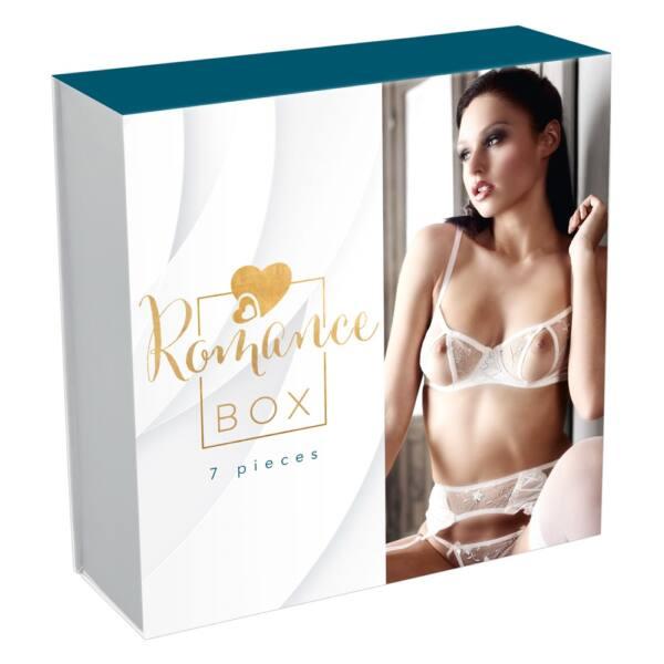 Romance Box - erotikus vibrátor csomag pároknak (7 részes)
