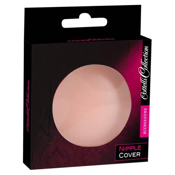 Cottelli Nipple Cover - kör mellbimbó tapasz (natúr) - 2db