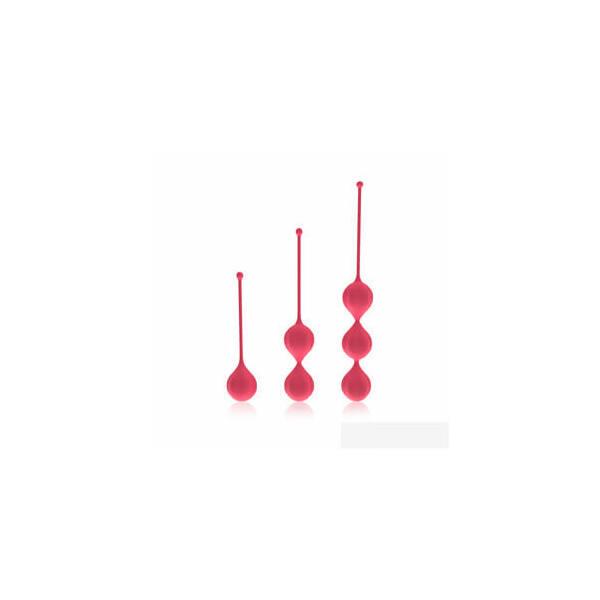 Cotoxo Belle - 3 részes gésagolyó szett (piros)