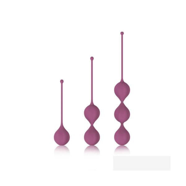 Cotoxo Belle - 3 részes gésagolyó szett (viola)