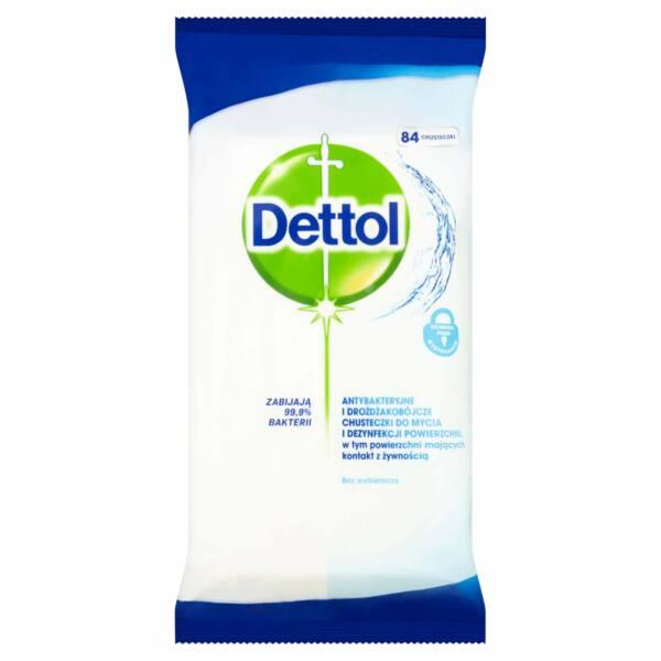 Dettol - antibakteriális felülettisztító kendő (36db)
