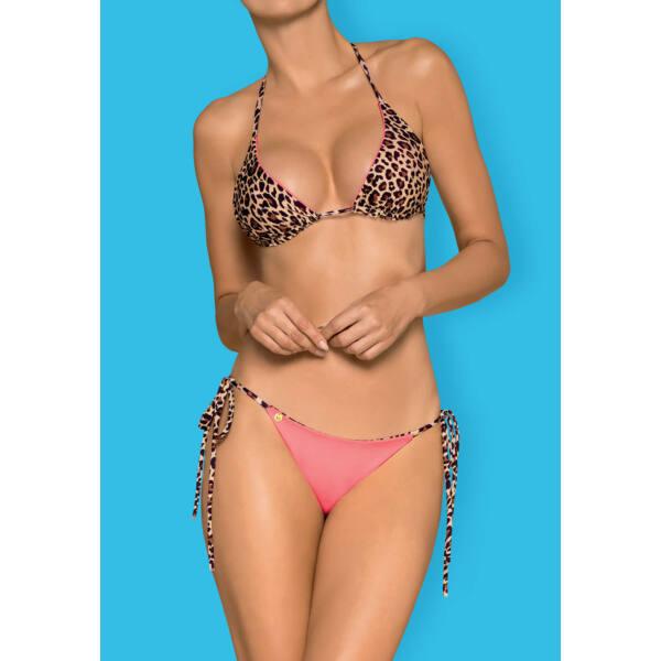 Obsessive California - variálható bikini (pink-leopárd)