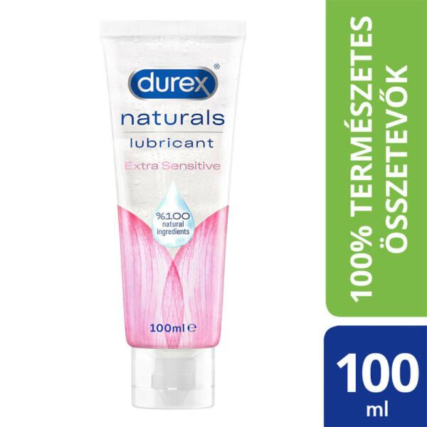 Durex Naturals - extra szenzitív síkosító (100ml)