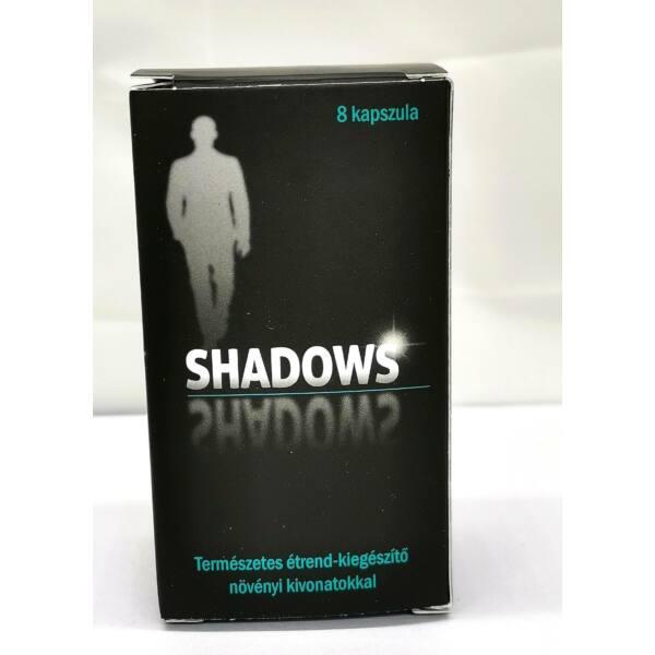 Shadows - természetes étrend-kiegészítő férfiaknak (8db)