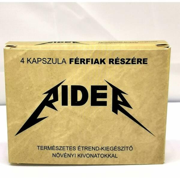 Rider - természetes étrend-kiegészítő férfiaknak (4db)