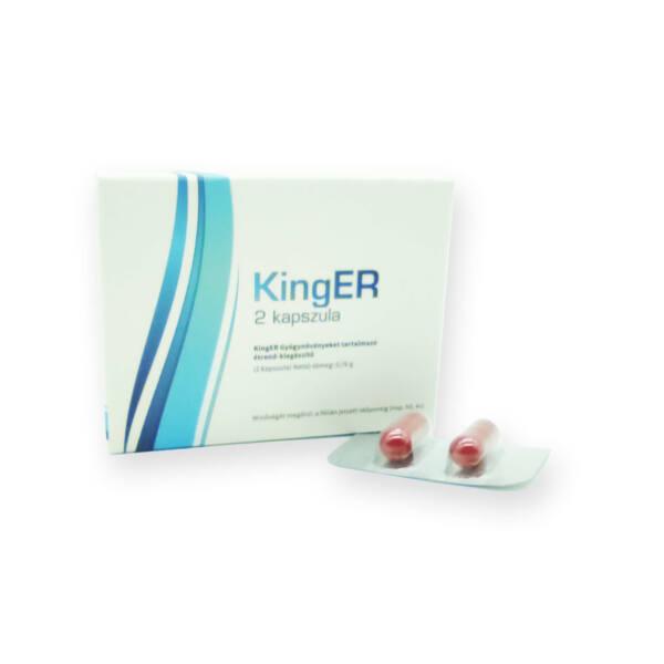 KingER - erős, étrend-kiegészítő kapszula férfiaknak (2db)