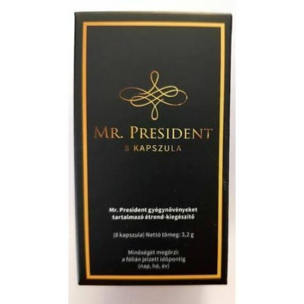 Mr. President - erős, étrend-kiegészítő kapszula férfiaknak (8db)