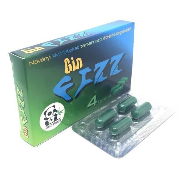 Gin FIZZ - növényi kivonatokat tartalmazó étrend-kiegészítő (4db)
