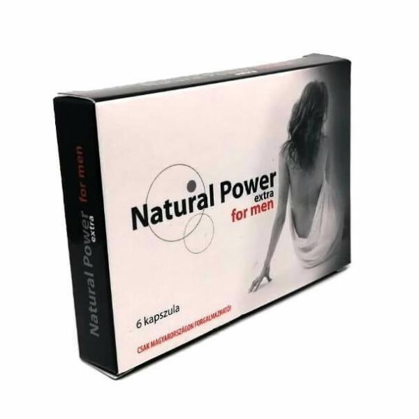 Natural Power - étrendkiegészítő kapszula férfiaknak (6db)