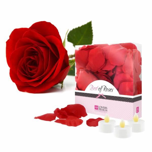 LoversPremium - rózsaszirom szett (103 részes) - piros