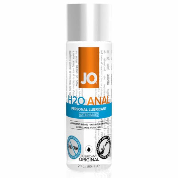 JO H2O ANAL - vízbázisús síkosító (60ml)