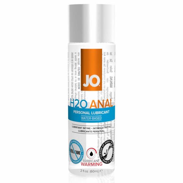 JO H2O Anal Warming - melegítő vízbázisú anál síkosító (60ml)