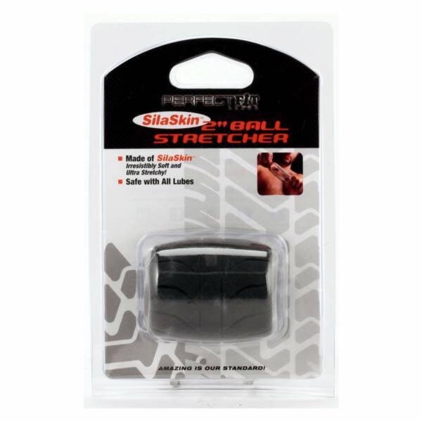 SilaSkin Ball Heregyűrű és nyújtó (fekete)