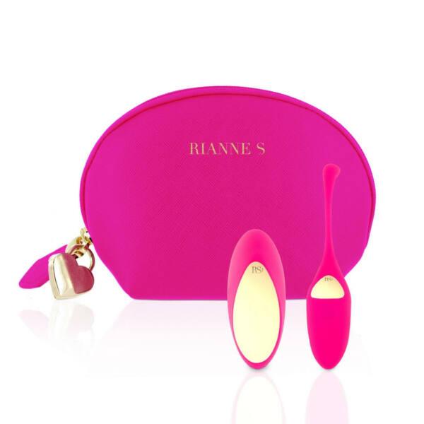 Rianne Essentials Pulsy - akkus, rádiós vibrációs tojás (pink)